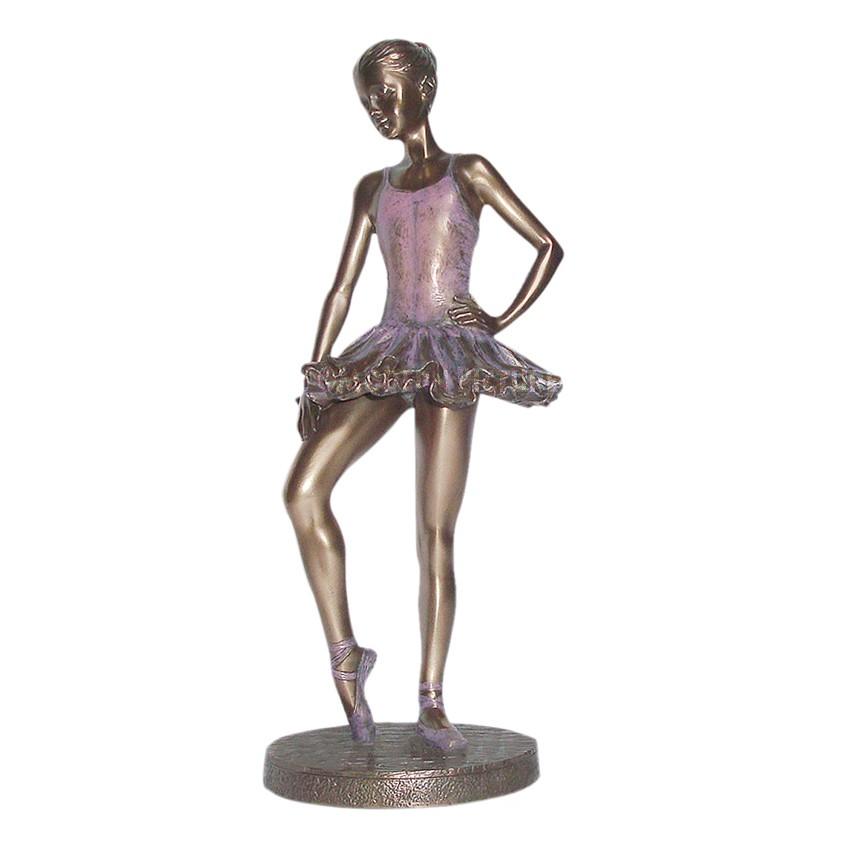 Body Talk Figur Ballett Tanz Skulptur Bronzeoptik Aus Resin