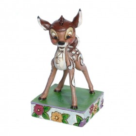 Bambi Figur von Jim Shore Disney Tradition Young Prince  – Bild 1