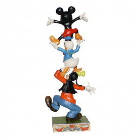 Goofy Donald Duck Mickey Mouse Disney Tradition Jim Shore – Bild 2