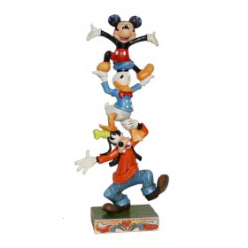 Goofy Donald Duck Mickey Mouse Disney Tradition Jim Shore – Bild 1