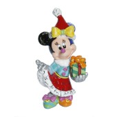 Minnie Mouse Weihnachtsfigur Mini von Walt Disney nach Romero Britto Pop Art 001