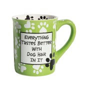 Tasse Kaffeepot Becher Dog Hair Mug