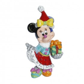 Minnie Mouse Weihnachtsfigur Mini von Walt Disney nach Romero Britto Pop Art