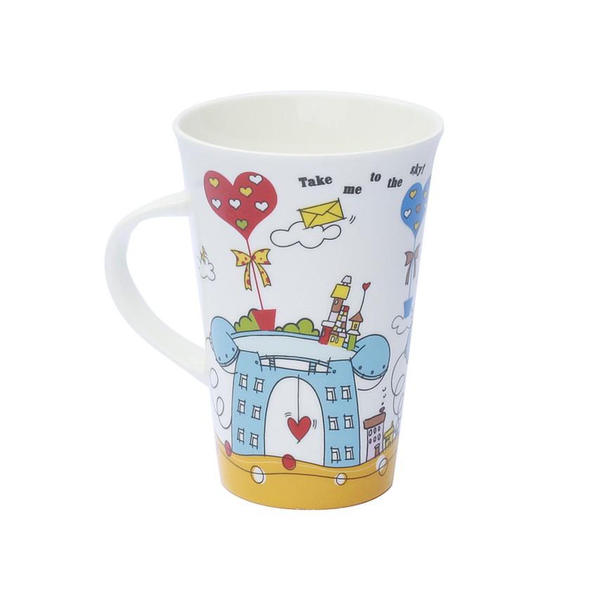 tasse kaffeetasse designtasse aus bone china porzellan in geschenkverpackung. Black Bedroom Furniture Sets. Home Design Ideas