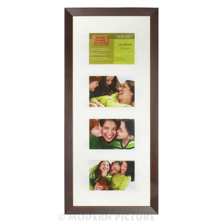 Fotorahmen Wechselrahmen Holz Palisander 4 x 10 x 15 von Nielsen Design