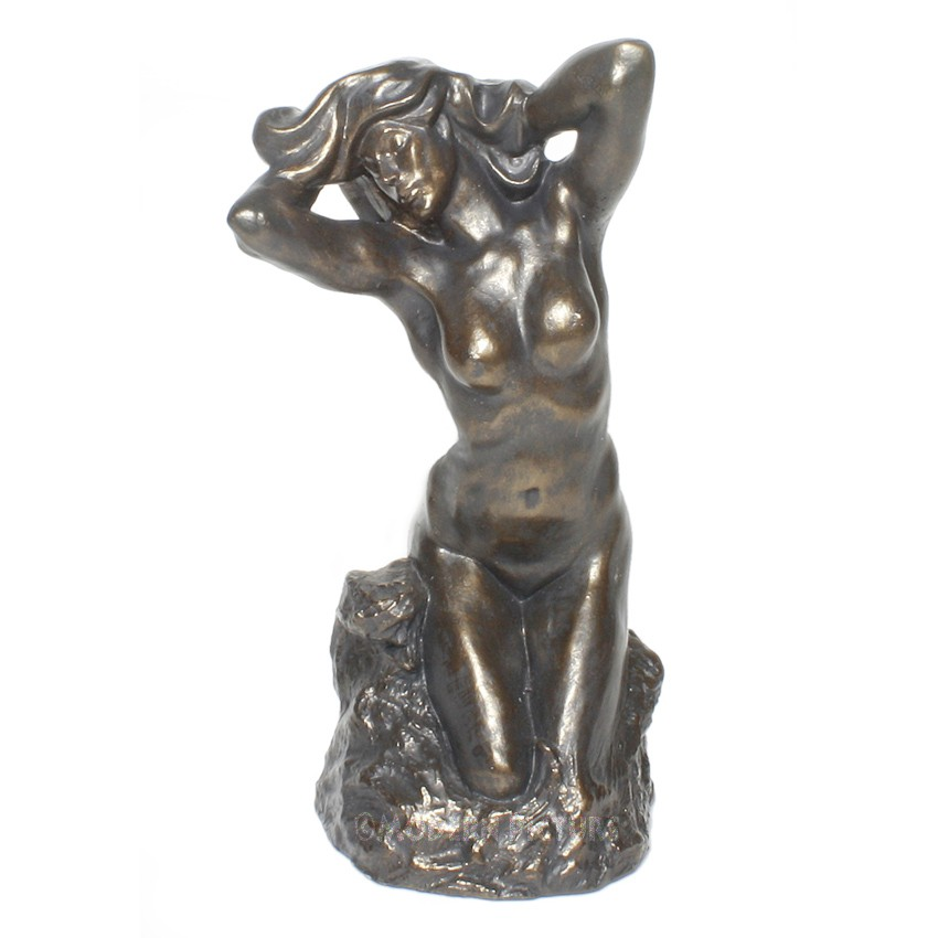 Auguste Rodin Toilette De Venus In Bronzeoptik